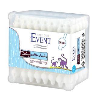 ЕВЕНТ КЛЕЧКИ ЗА УШИ БЕБЕШКИ С ОГРАНИЧИТЕЛ Х 56 БР