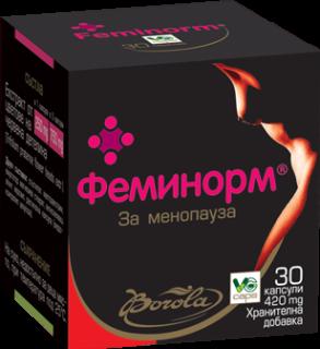 БОРОЛА ФЕМИНОРМ КАПС. Х 30