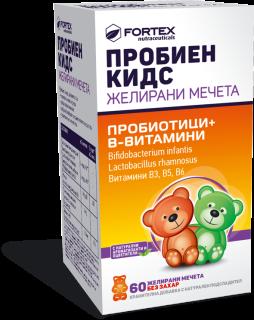 ПРОБИЕН КИДС ЖЕЛИРАНИ МЕЧЕТА Х 60 ФОРТЕКС