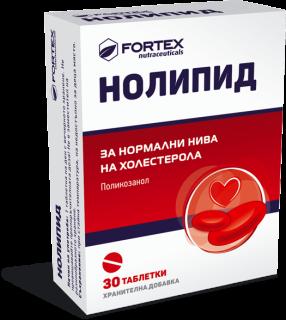 НОЛИПИД КАПС. 10МГ Х 30 ФОРТЕКС