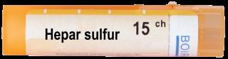 HEPAR SULFURIS CALCAREUM 15CH