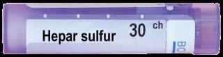 HEPAR SULFURIS CALCAREUM 30CH