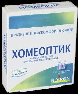 ХОМЕОПТИК КАПКИ ЗА ОЧИ  X10 ФЛАКОНА