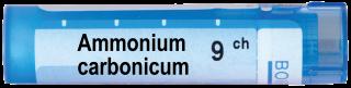AMMONIUM CARBONICUM 9 CH