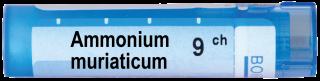AMMONIUM MURIATICUM 9CH