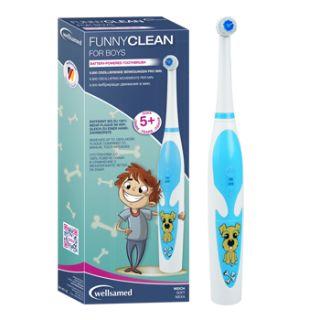 ВЕЛСАМЕД ЕЛ ЧЗ С НАКРАЙНИК ФЪНИ КЛИЙН МОМЧЕ КУТИЯ