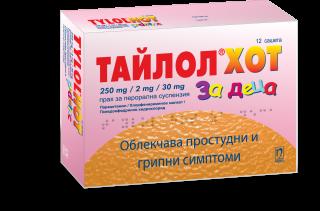 ТАЙЛОЛ ХОТ САШЕТА X 12 ДЕЦА