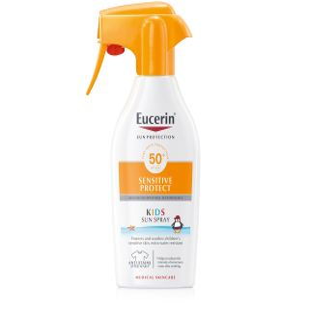 ЮСЕРИН СЪН СПРЕЙ ЗА ДЕЦА SPF50+ 300МЛ С ПОМПА