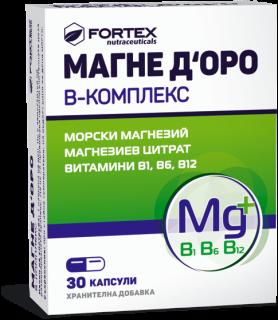 МАГНЕ ДОРО Б КОМПЛЕКС КАПС.X 30 ФОРТЕКС