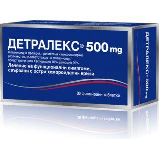 ДЕТРАЛЕКС ТАБЛ. 500МГ Х 36
